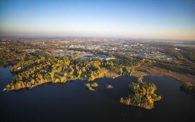 Rinnovabili, bioedilizia e mobilità dolce: Växjö, la città più green d'Europa