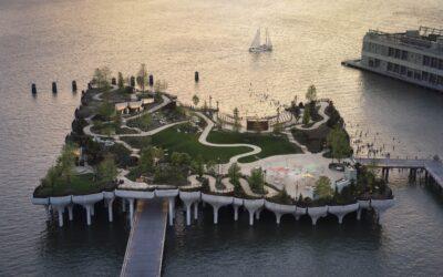 Little Island, la nuova «oasi galleggiante» di New York